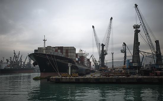 Суда вНовороссийском морском торговом порту