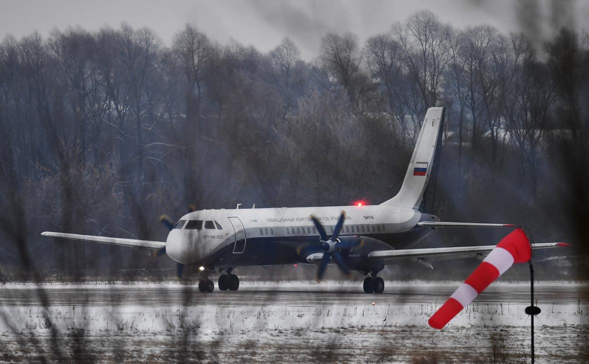Самолет Ил-114-300
