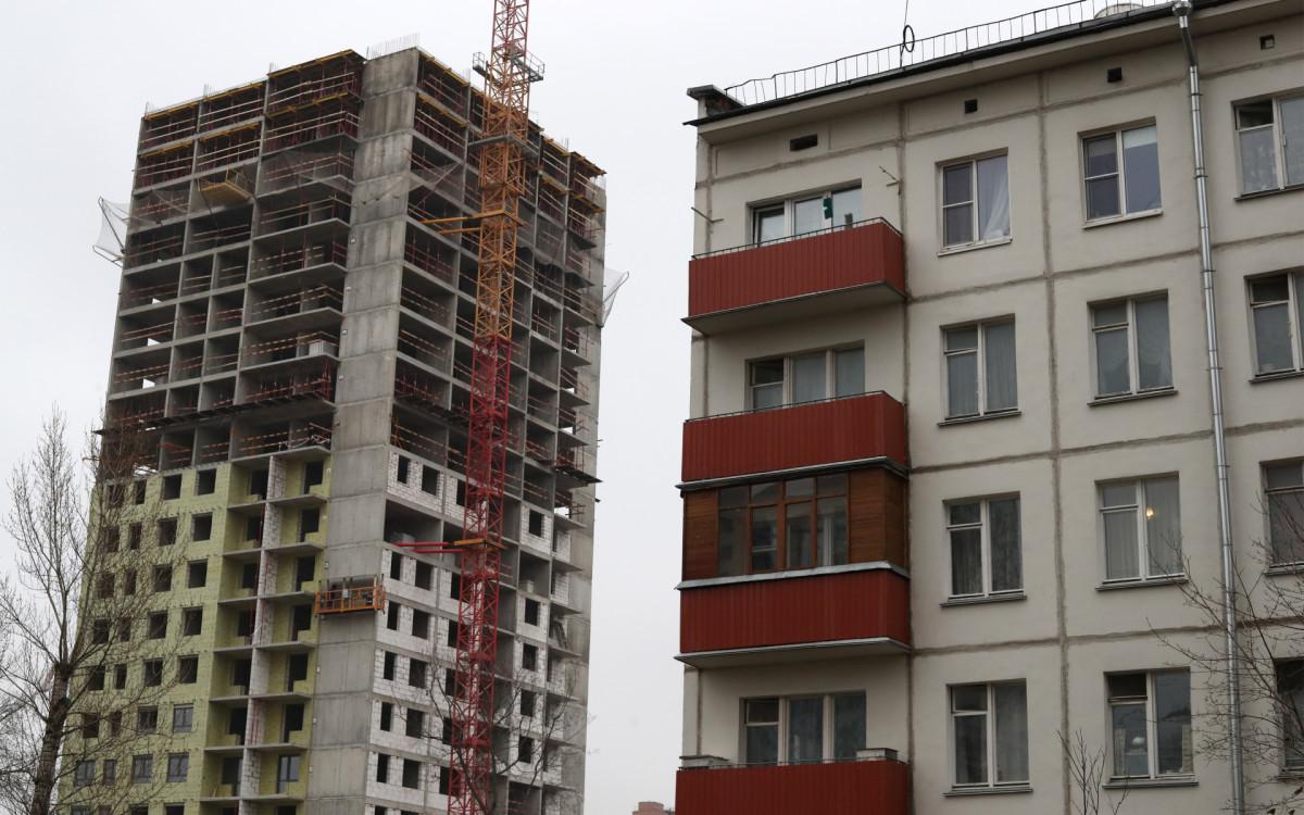 Строительство по программе реновации в Москве