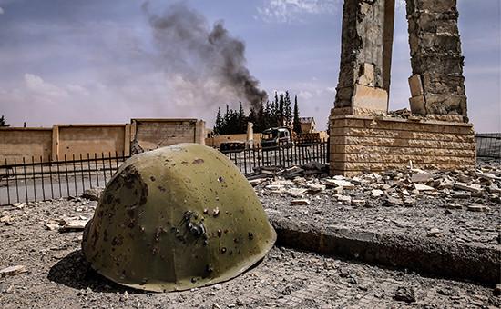 На улицах одного из сирийских городов