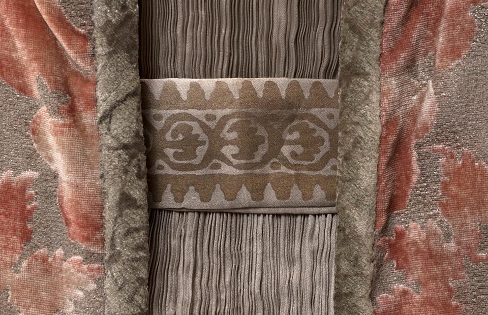 Платье и пальто Delphos (деталь), ок. 1919-1920