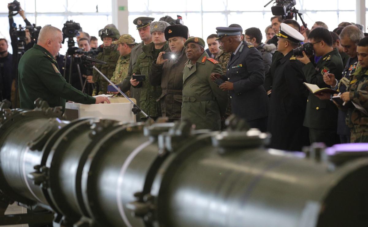 Брифинг Минобороны России по российской ракете 9М729
