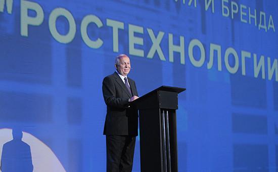 Глава госкорпорации «Ростех» Сергей Чемезов