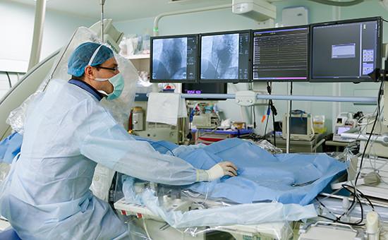 В операционной Федерального центра высоких медицинских технологий