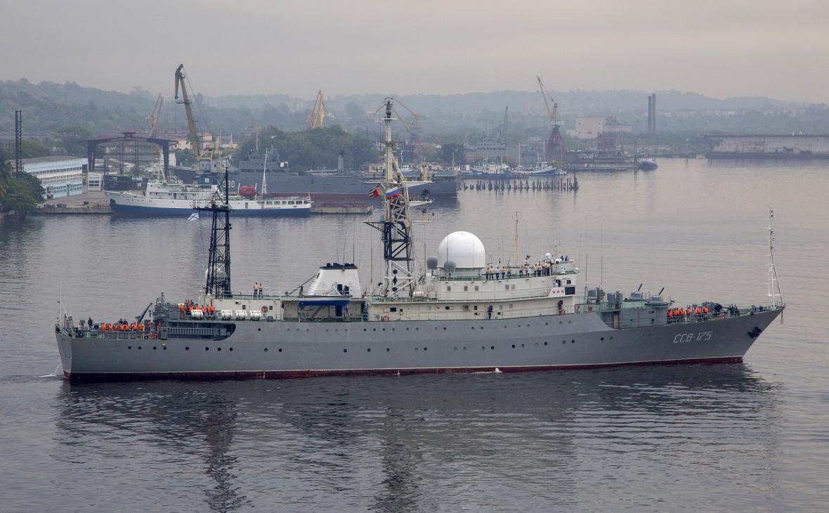 Корабль-разведчик «Виктор Леонов»