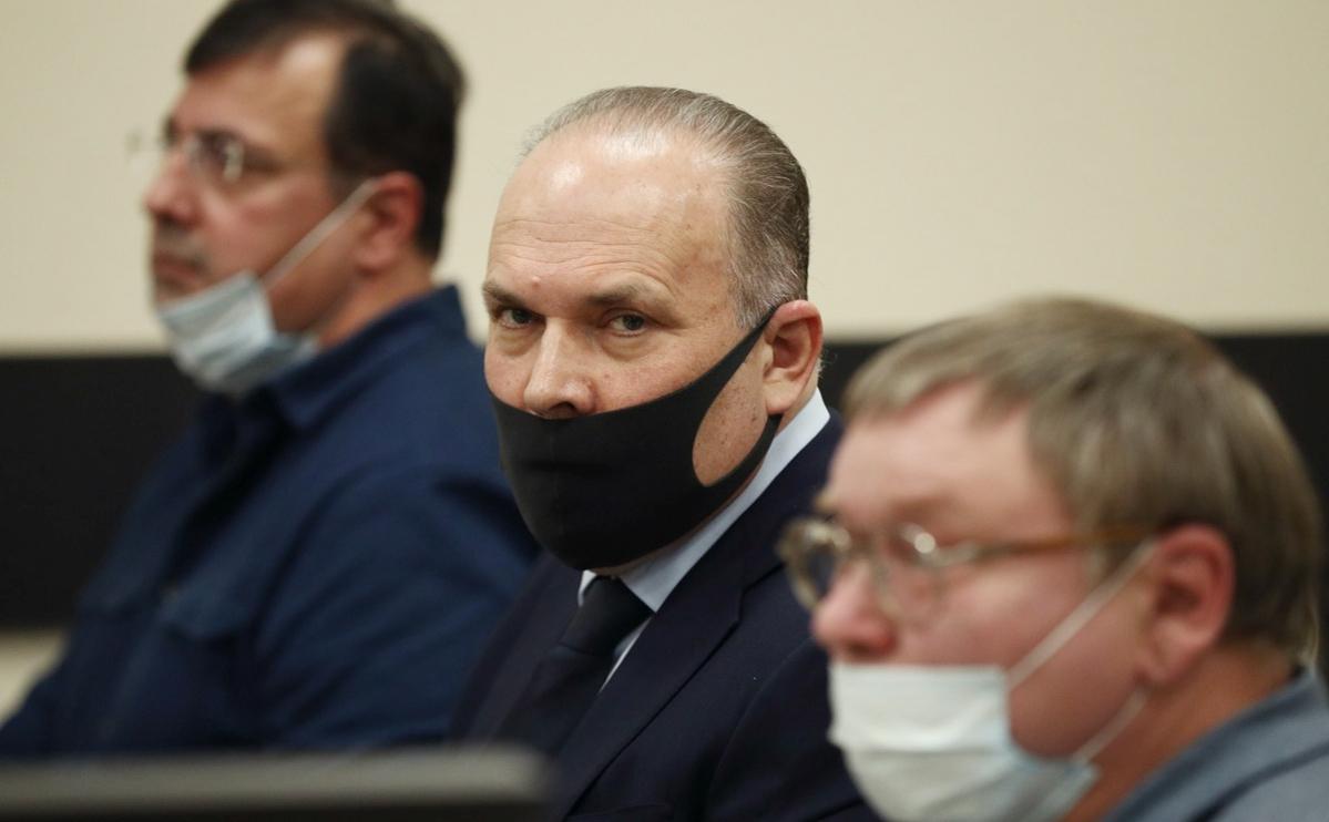 Михаил Мень во время рассмотрения ходатайства о переносе судебного процесса из Иваново в Тверской районный суд