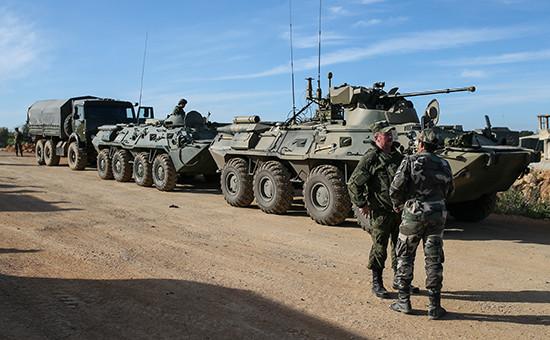 Российские войска в Сирии. Апрель 2016 года.