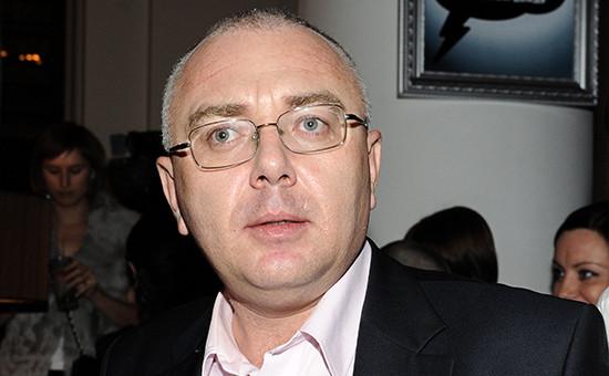 Телеведущий Павел Лобков