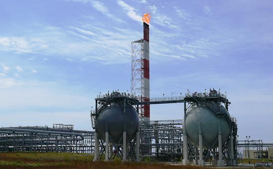 Заводпо производству сжиженного природного газа