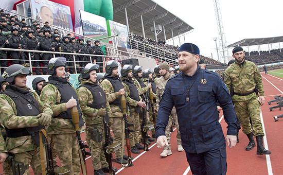 Глава Чечни Рамзан Кадыров. 2014 год