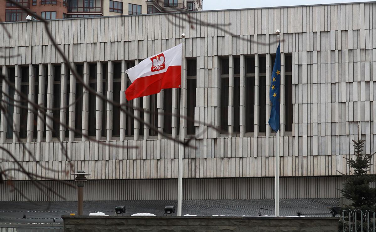 Здание посольства Польши в Москве
