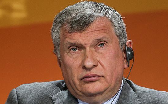 Президент «Роснефти» Игорь Сечин