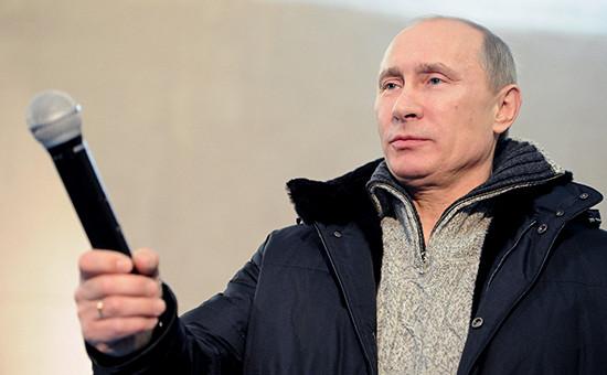 Президент России Владимир Путин, 2012 год