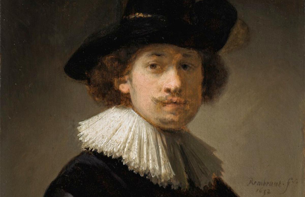 Рембрандт, автопортрет,1632