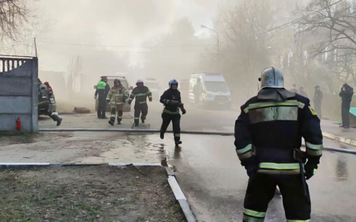 Фото: МЧС России по Московской области