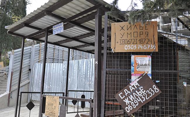 Объявления о сдаче жилья в аренду на южном побережье Крыма