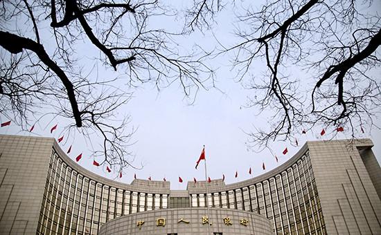 Здание Центробанка Китая вПекине