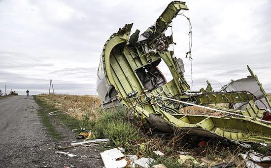 Место крушения Boeing MH-17. Архивное фото
