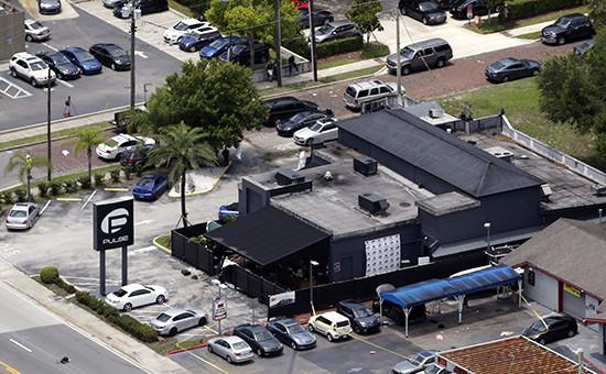 Ночной клуб Pulse вОрландо, гдепроизошло убийство 50 человек