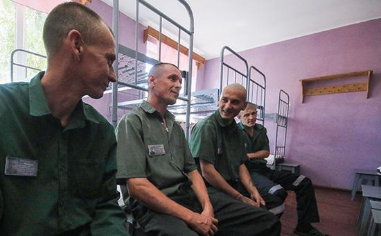 Заключенные в исправительной колонии №1 в Симферополе. Июль 2016 года
