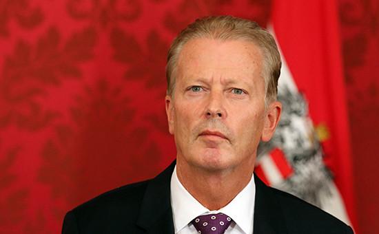 Вице-канцлер Австрии Райнхольд Миттерленер