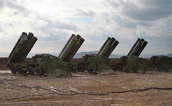 Cистемы противовоздушной обороны С-400