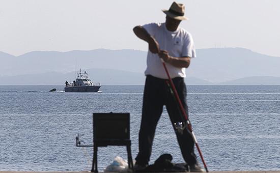 Рыбак вЭгейском море