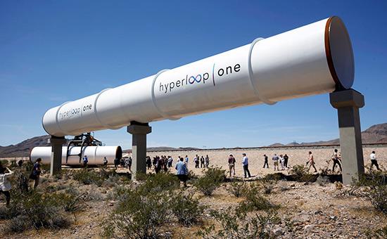 Строительство Hyperloop One