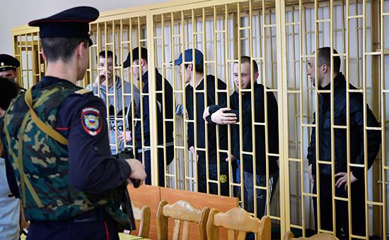 Оглашение приговора поделу «приморских партизан» воВладивостоке. Апрель 2014 года