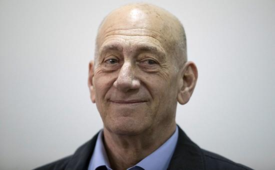 Бывший премьер-министр ИзраиляЭхудОльмерт