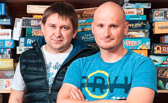 Основатели HobbyWorld Михаил Акулов и Иван Попов (слева направо)