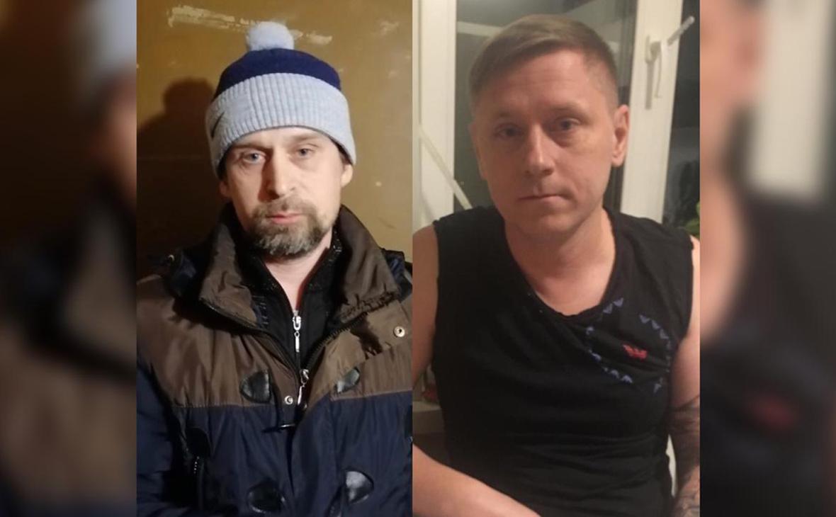 АлексейВересов (слева) и Сергей Половец (справа)