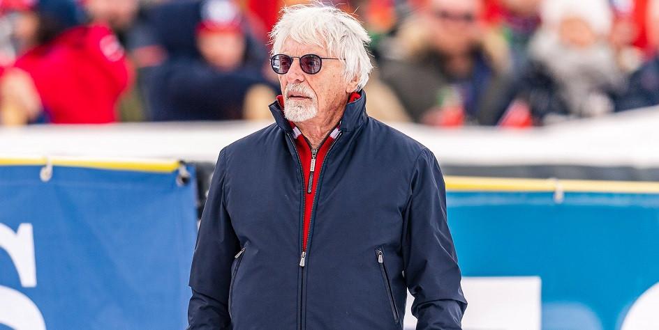 Бывший глава «Формулы-1» Берни Экклстоун