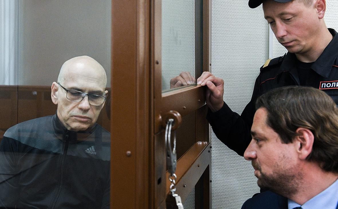 Алексей Кузнецов на заседании суда