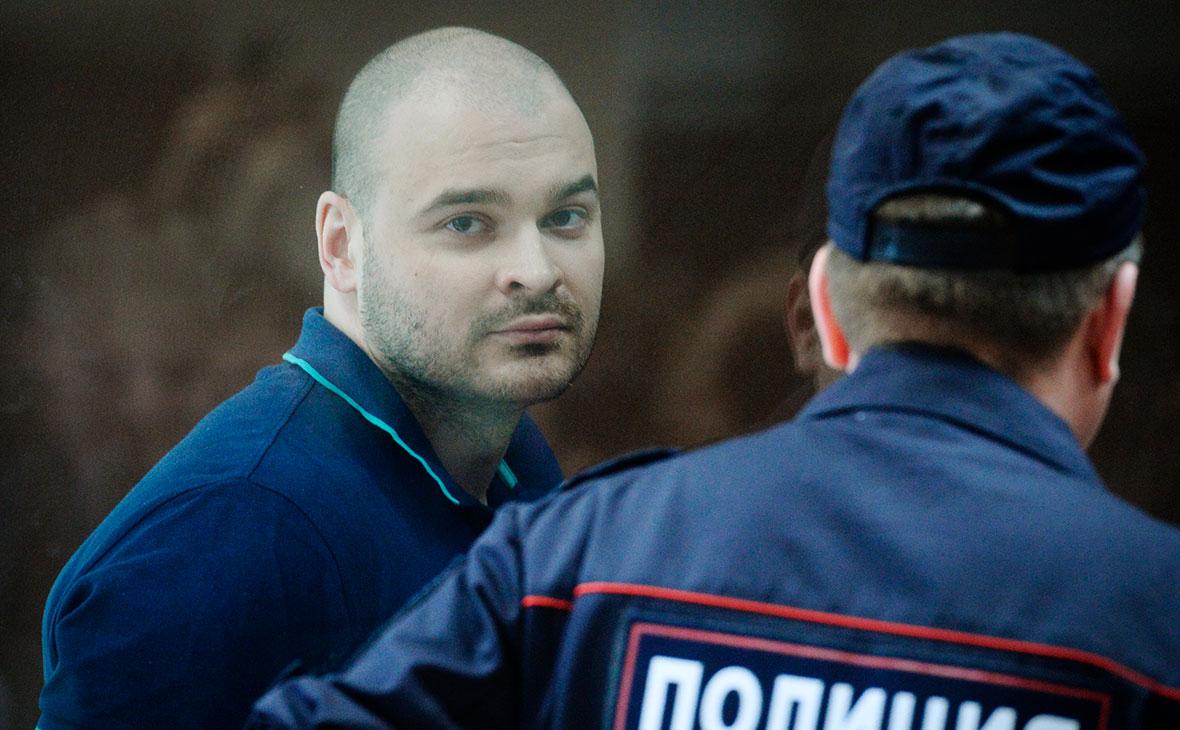 Максим Марцинкевич во время оглашения приговора в Бабушкинском суде Москвы
