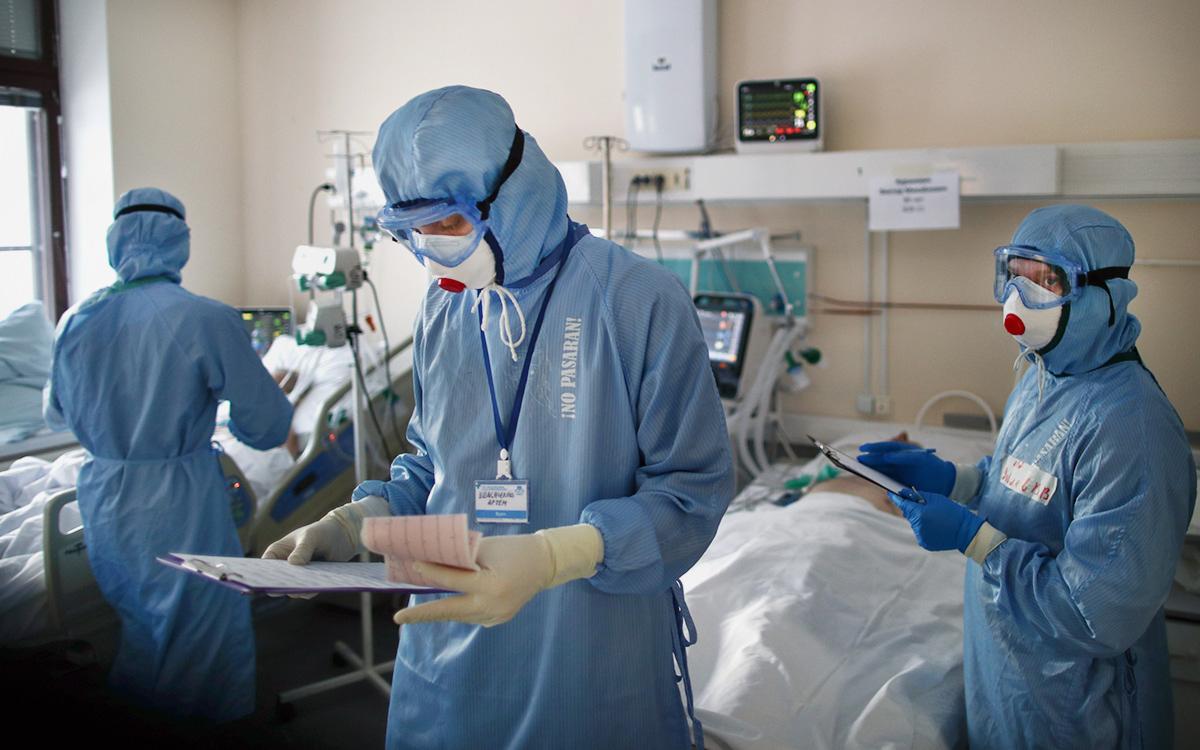 В России третий день подряд выявили более 9 тыс. случаев коронавируса
