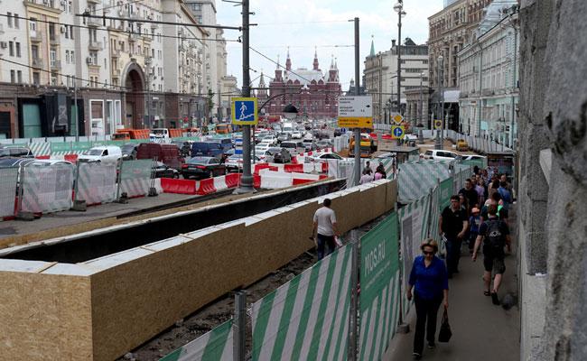 Реконструкция Тверской улицы