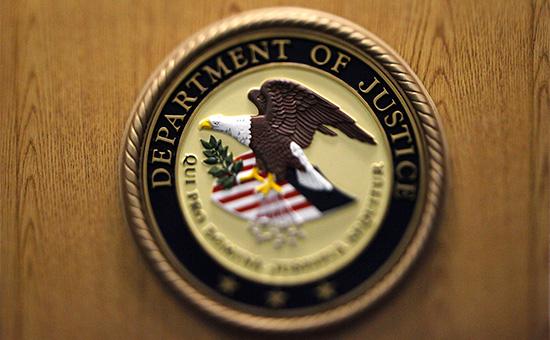 Герб Министерства юстиции США