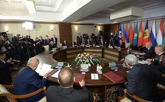 Заседание глав государств—участников Содружества Независимых Государств, 16 октября 2015 года