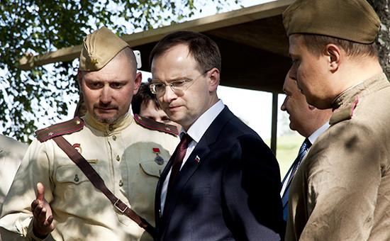 Министр культуры РФВладимир Мединский (в центре)