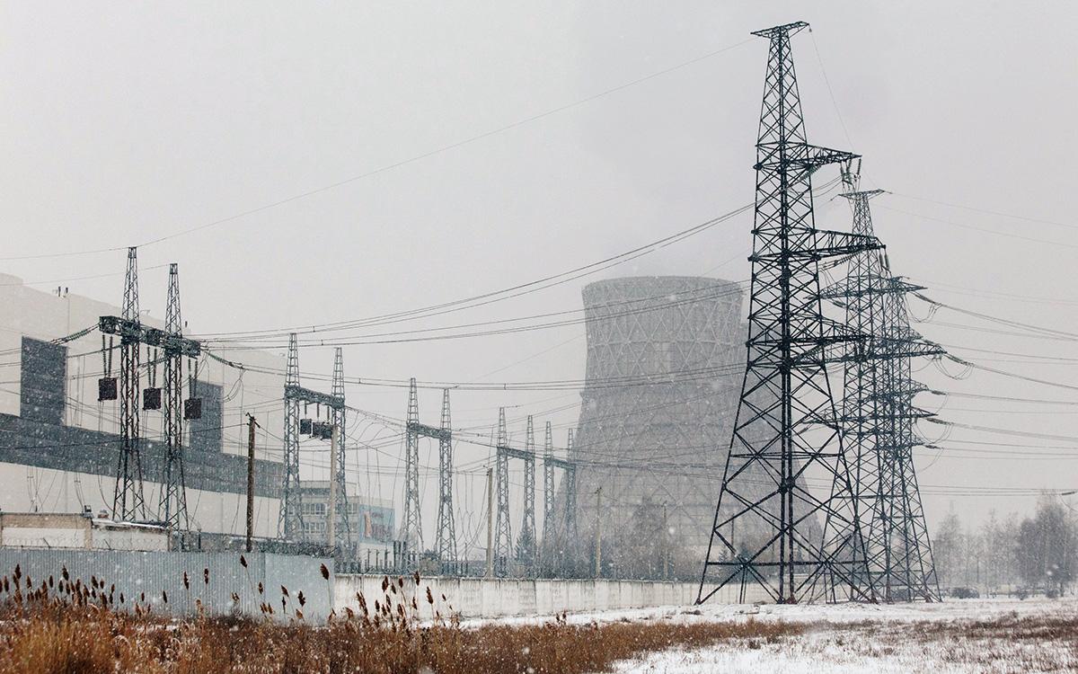 Теплоэлектроцентраль № 5 в Харькове, Украина