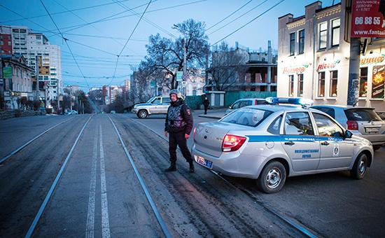 Полиция уздания приемной управления ФСБ РФ по Хабаровскому краю