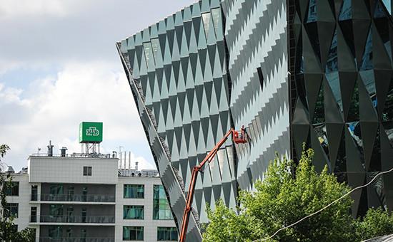 Новое здание телекомпании НТВ