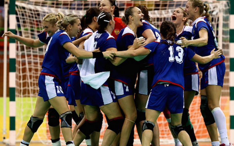 Фото: Женская сборная России по гандболу (Фото: Getty Images)