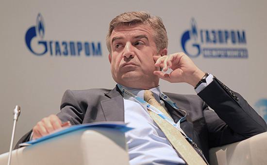 Гендиректор постратегическому икорпоративному развитию «Газпром межрегионгаза» Карен Карапетян, май 2013 года