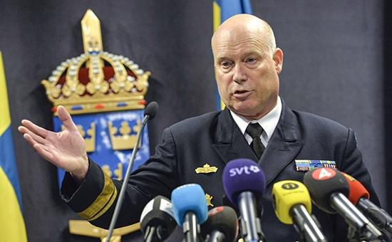 Начальник оперативных вооруженных сил Швеции Андерс Гренстад