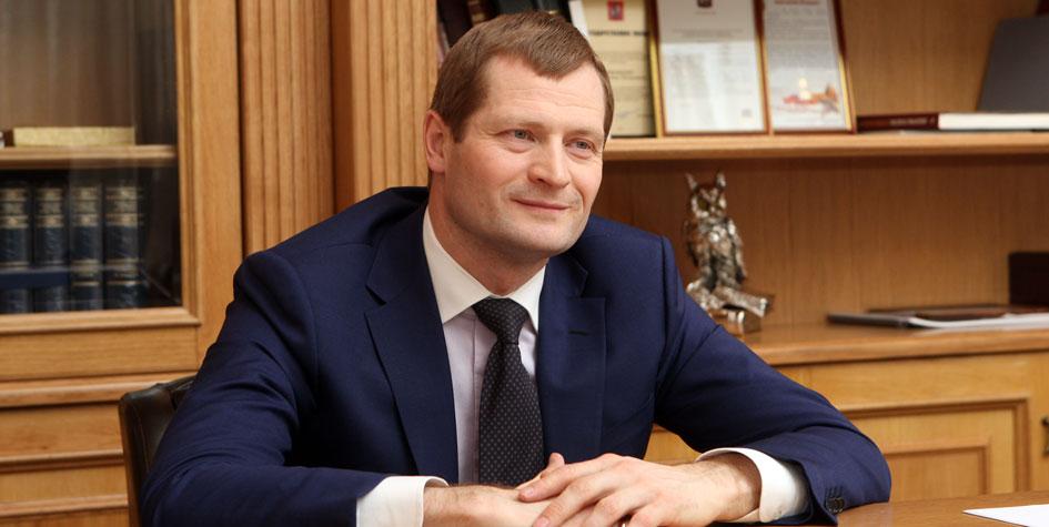 Глава Москомстройинвеста Константин Тимофеев