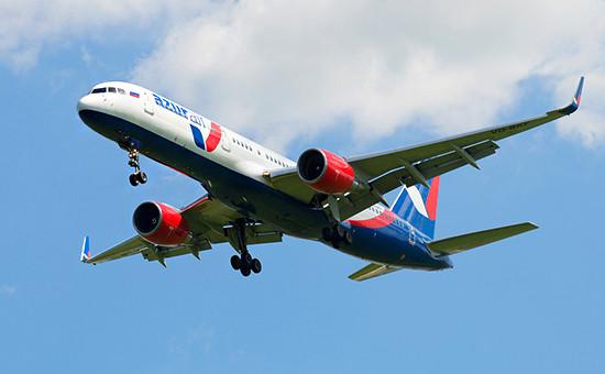 Самолет авиакомпании «Азур Эйр»