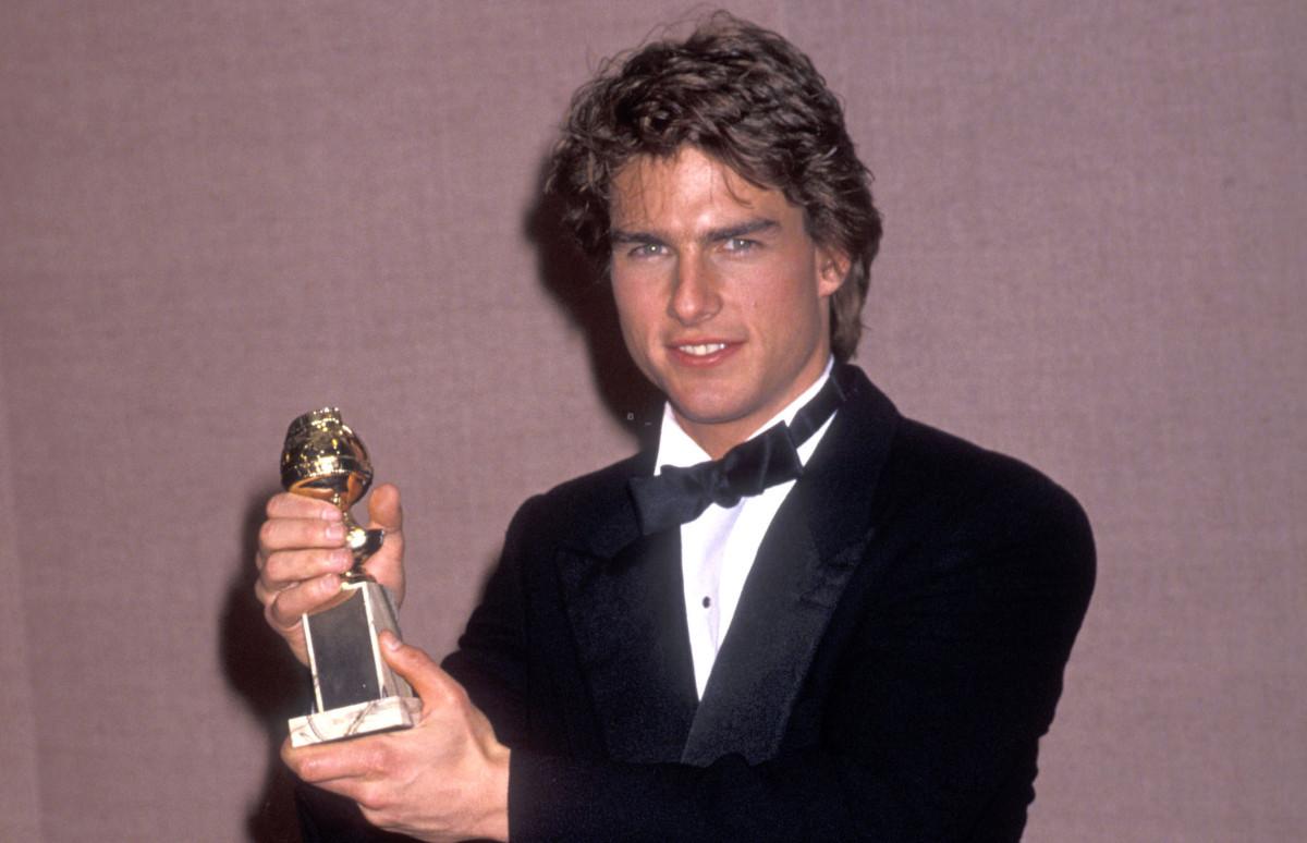 Том Круз на 47-й церемонии «Золотой глобус» 20 января 1999 года