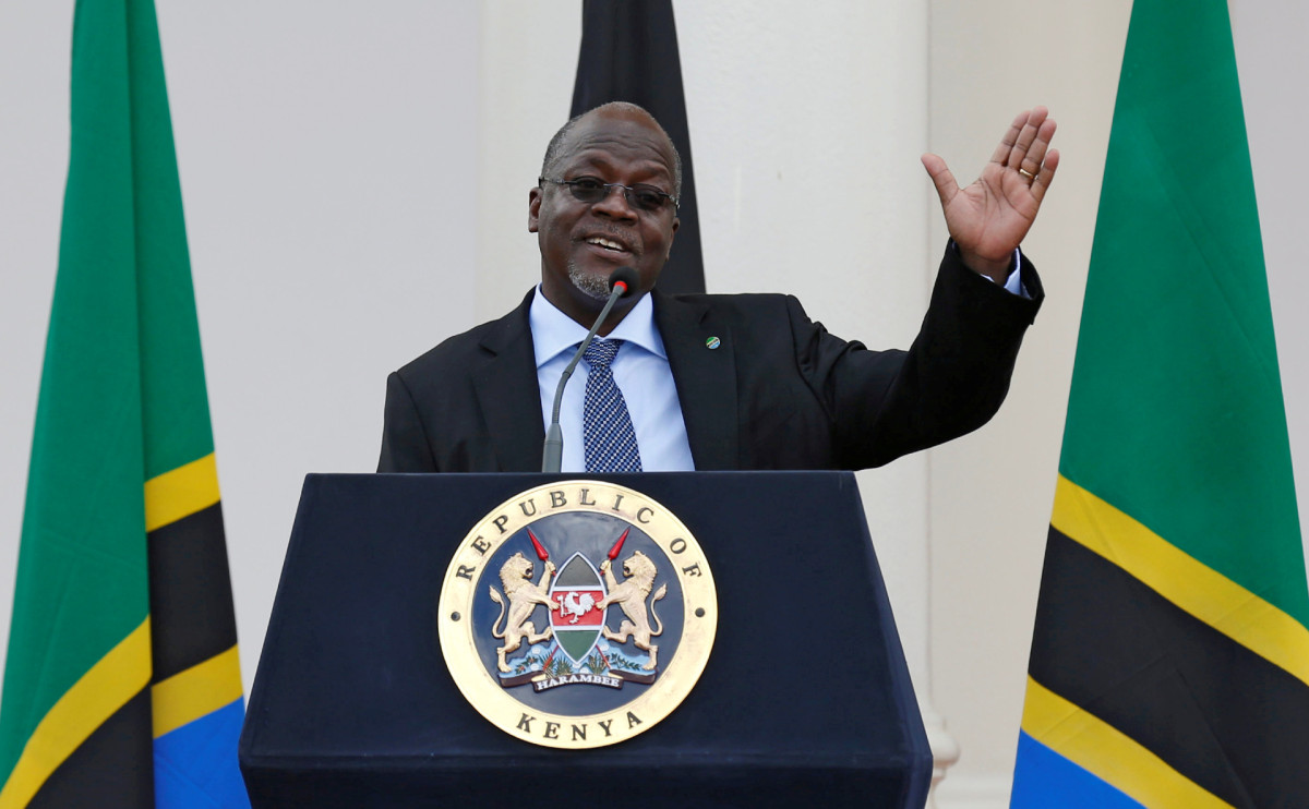 Президент Танзании Джон Магуфули